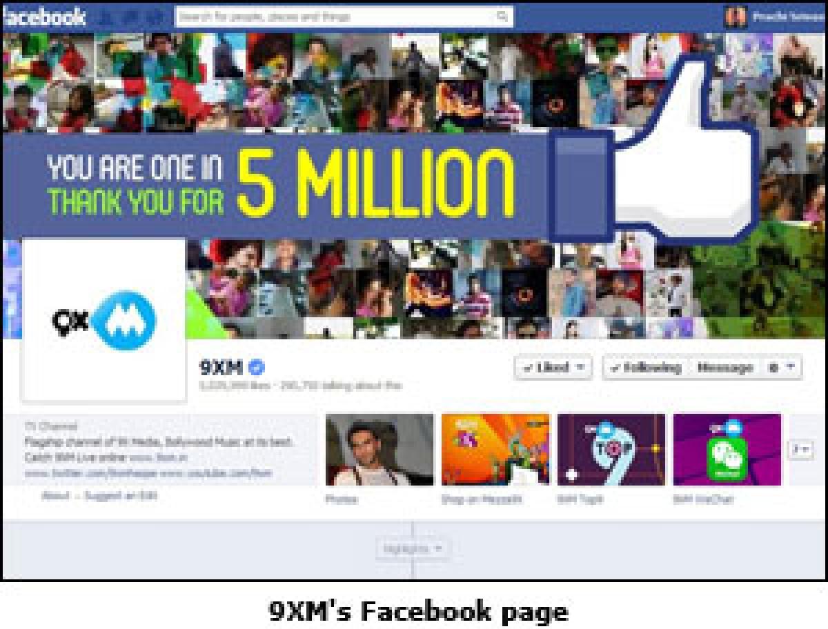 9XM crosses 5 million fans on Facebook