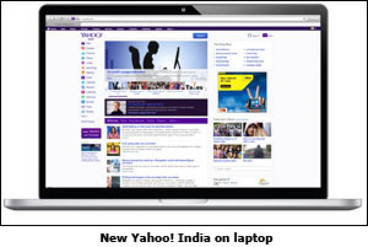 Yahoo! India dons a new look