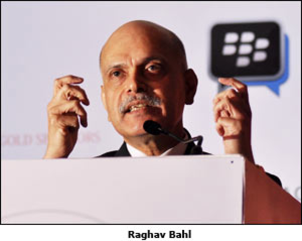 """Textual word found a second life in internet"": Raghav Bahl"