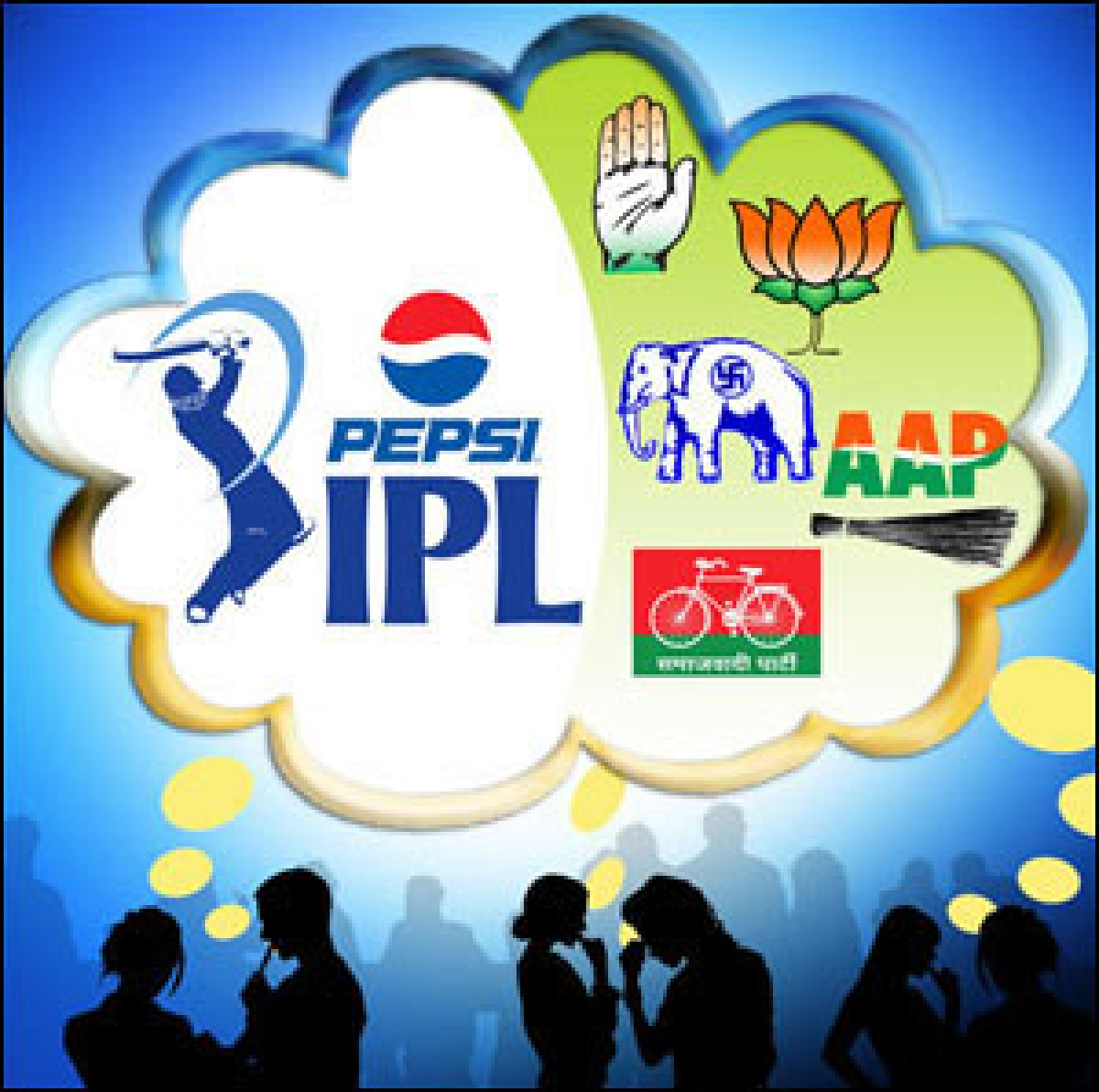 IPL and General Election: Competing for public attention?