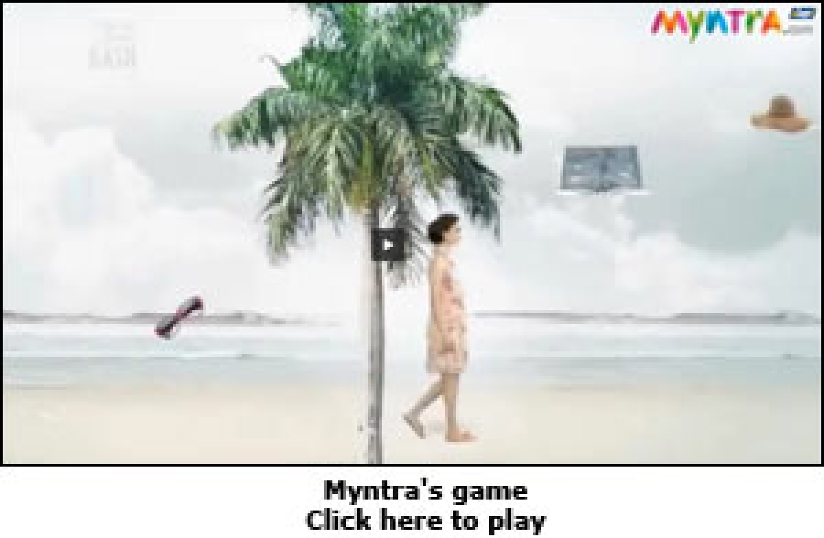 Myntra plays the game