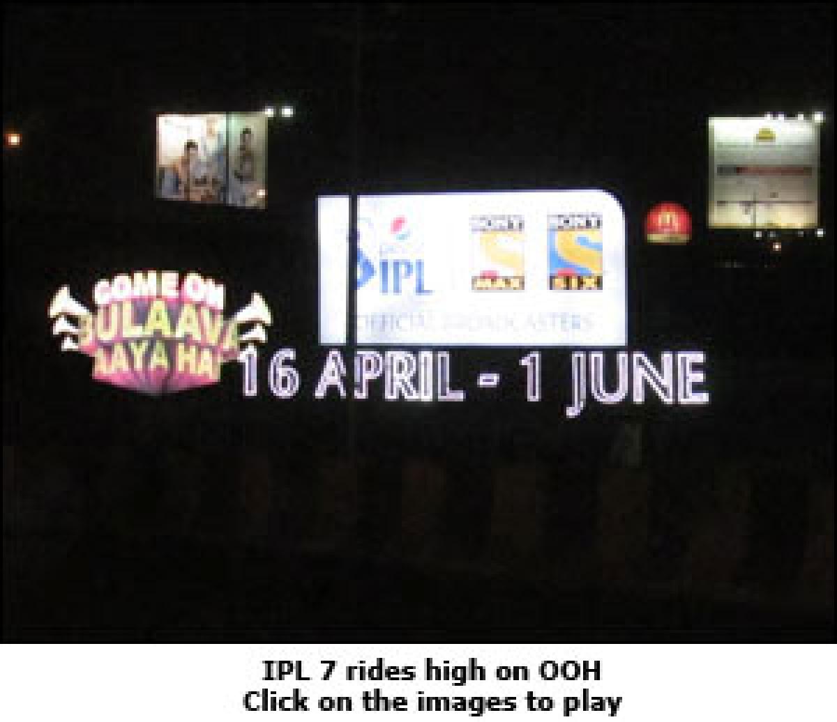 IPL 7 plays outdoor