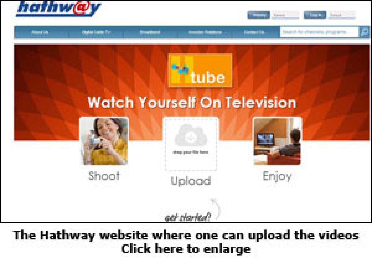 Hathway introduces new channel, 'H-tube'