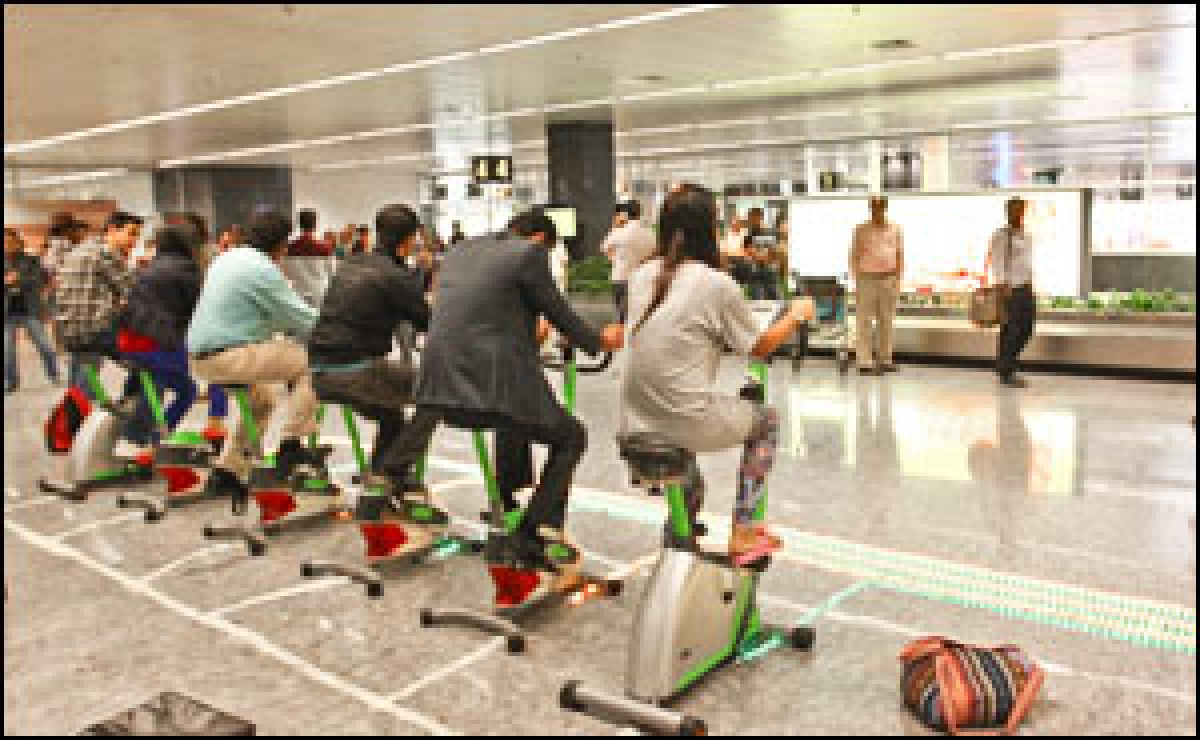 ITC 'conveys' health message at Bengaluru Airport