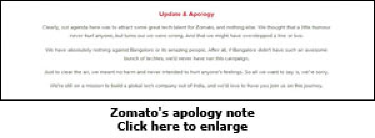 Zomato sandwiched between Delhi and Bengaluru