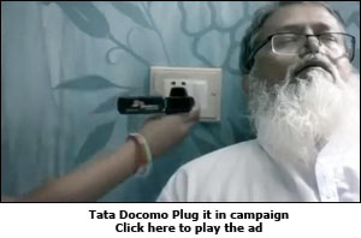 Tata Docomo: Wi-Fi hotspot, anywhere