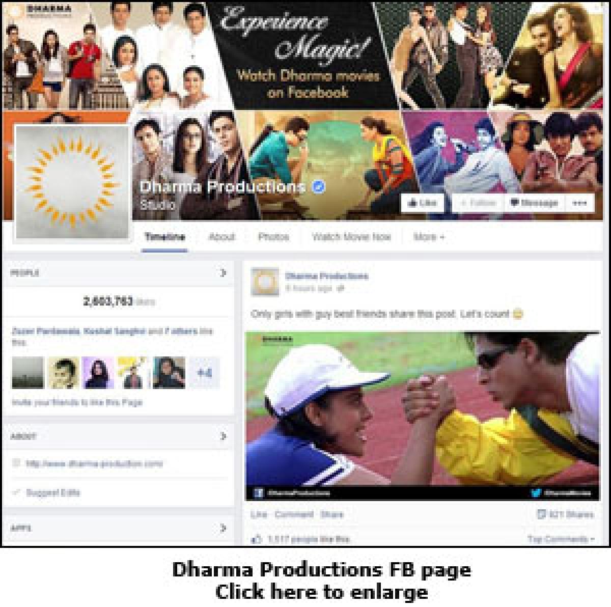 Dharma movies on Facebook