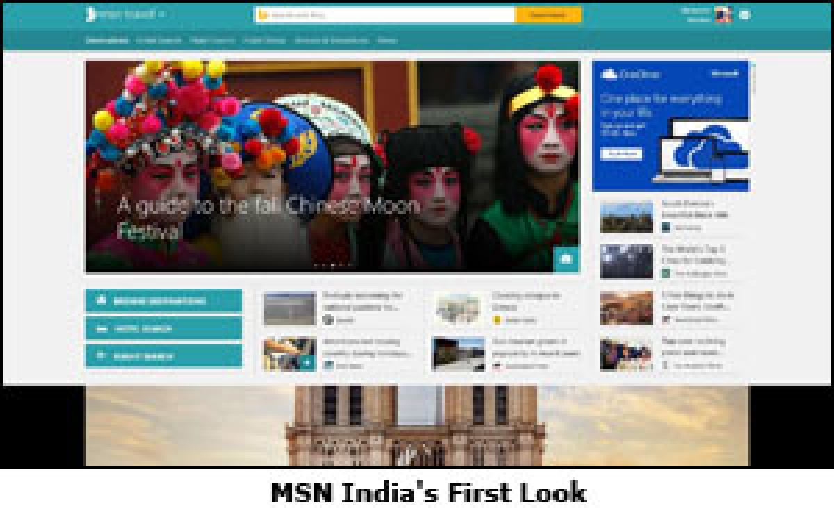 Microsoft Unveils First Look of New MSN in India