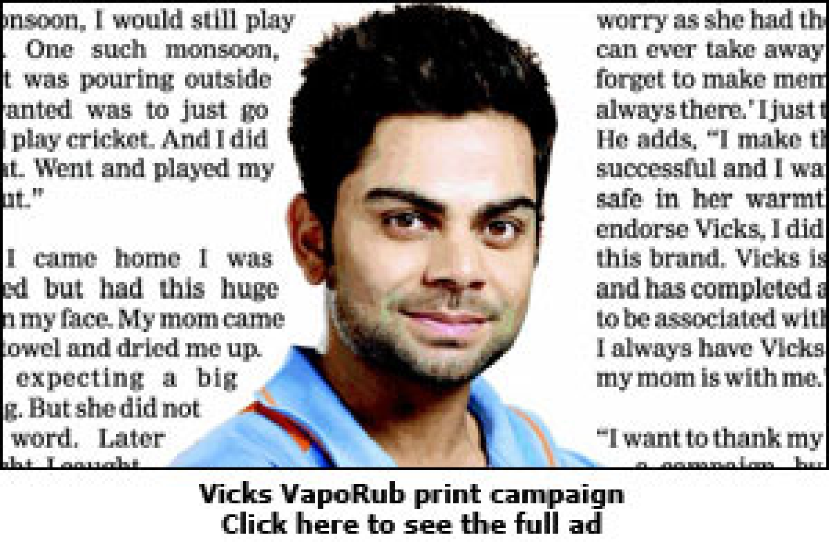 Virat Kohli: Endorsement Malfunction?