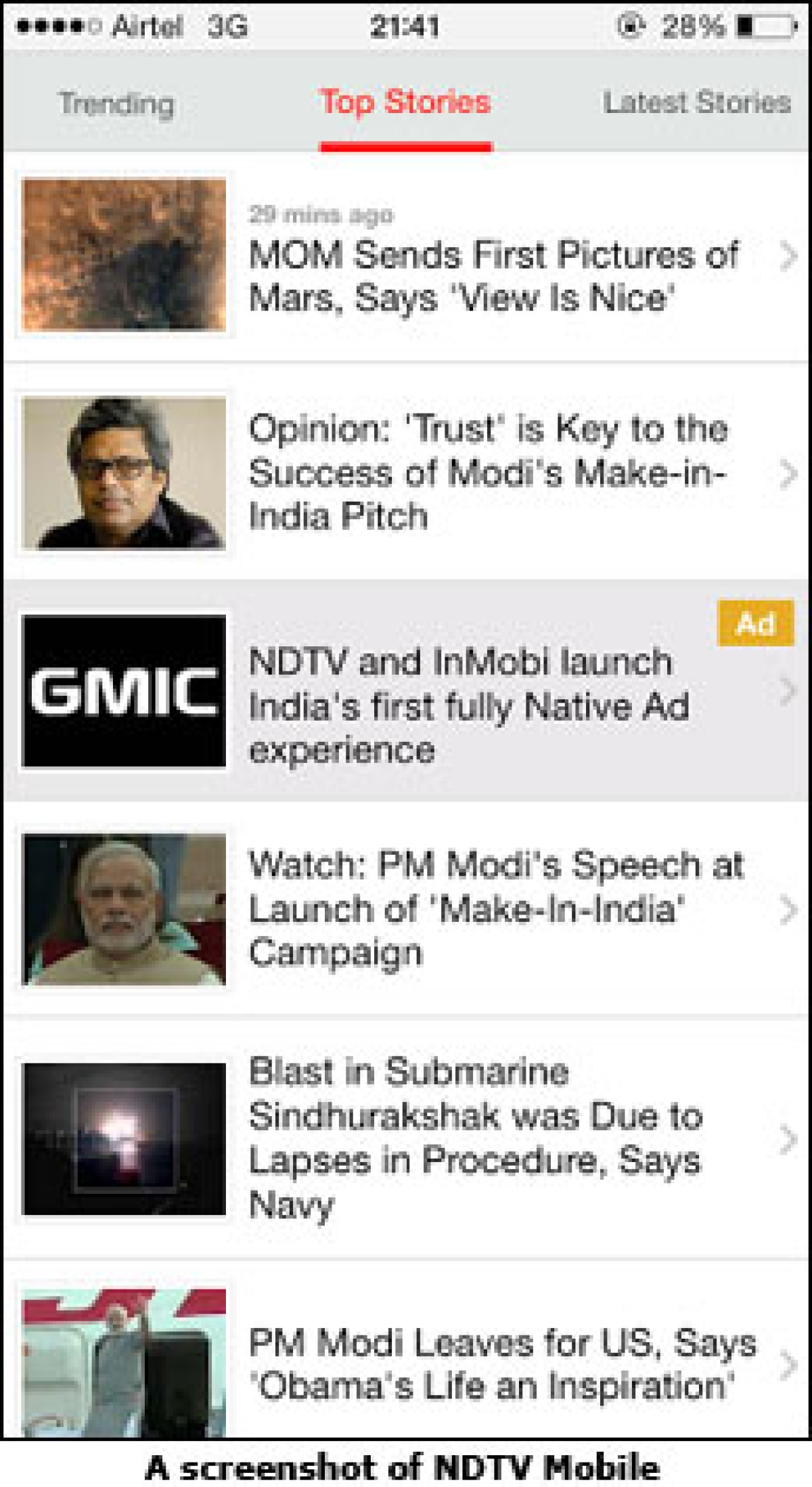 InMobi and NDTV Bring Home Native Ads