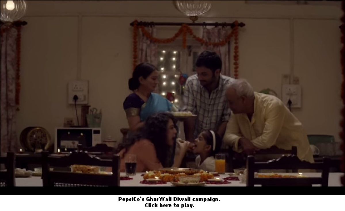 Pepsi India Lands Pre-Diwali Tearjerker