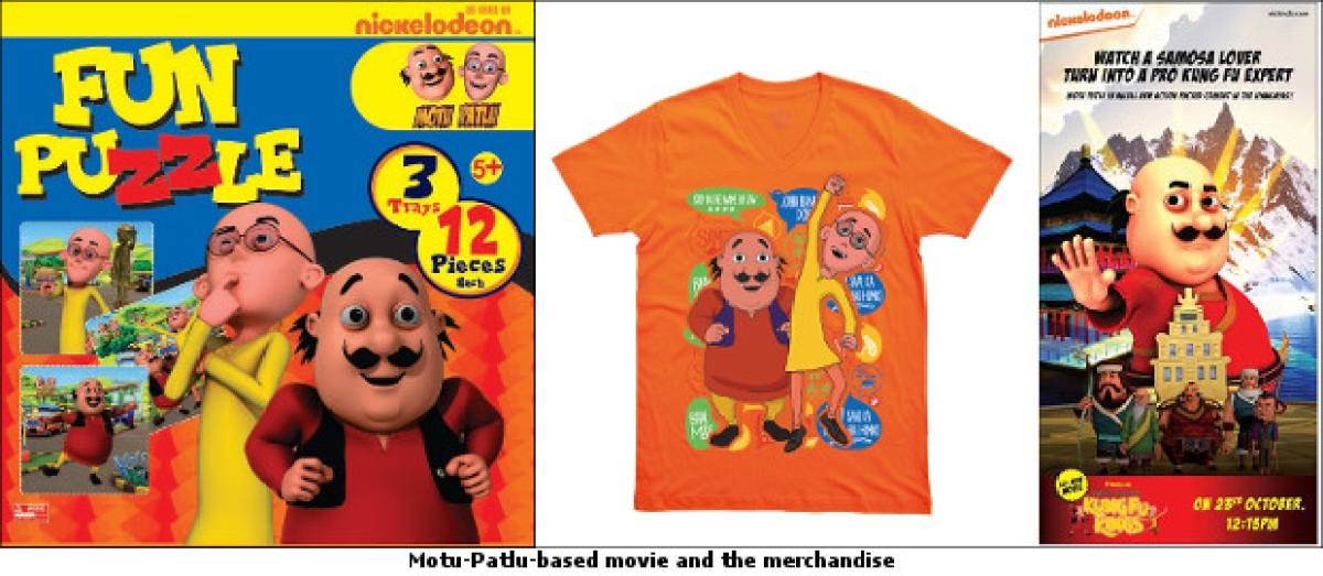 Nickelodeon launches Motu-Patlu merchandise; to air 4th movie soon