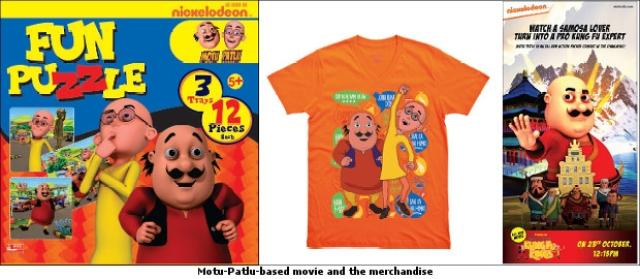 Nickelodeon launches Motu-Patlu merchandise