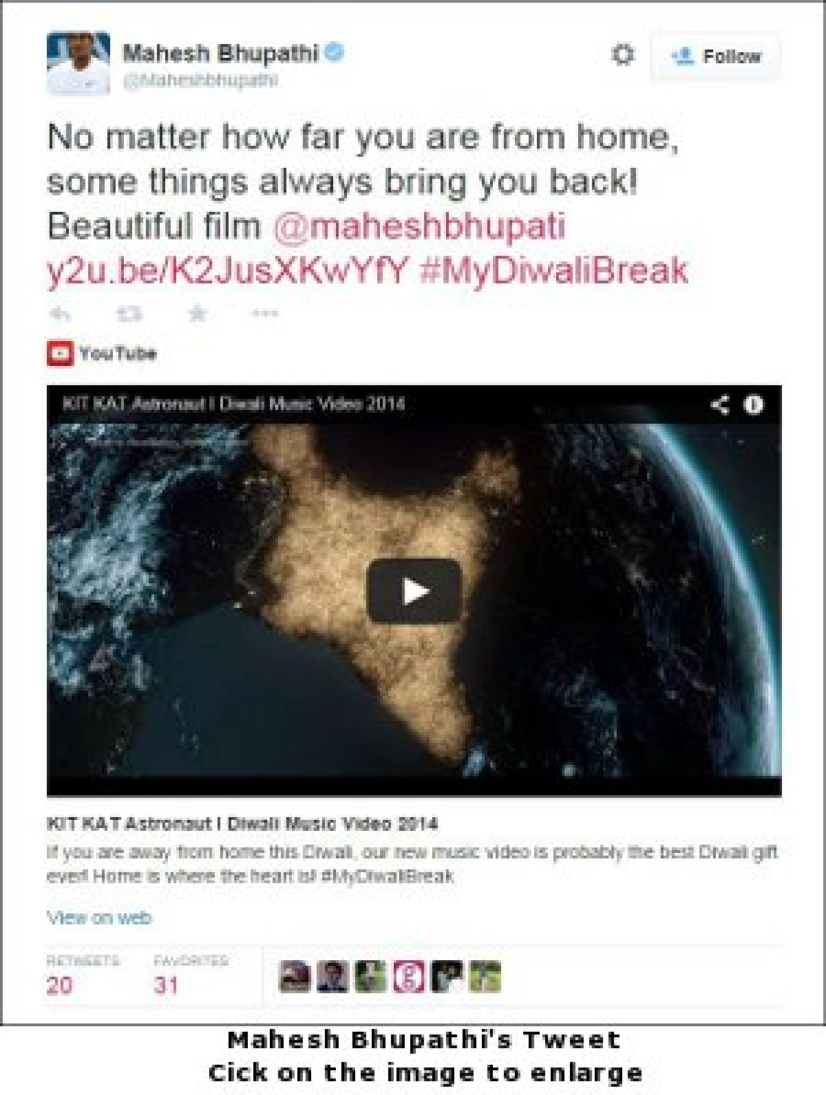 Kit Kat Takes Diwali Break In Space