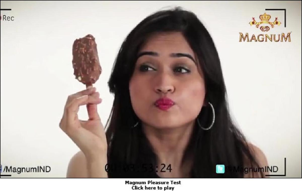 Magnum Ice Cream Promotes Pleasure