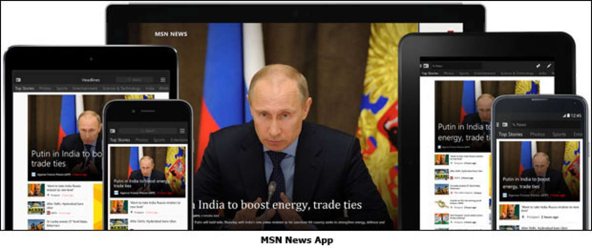 MSN launches Mobile Apps across platforms