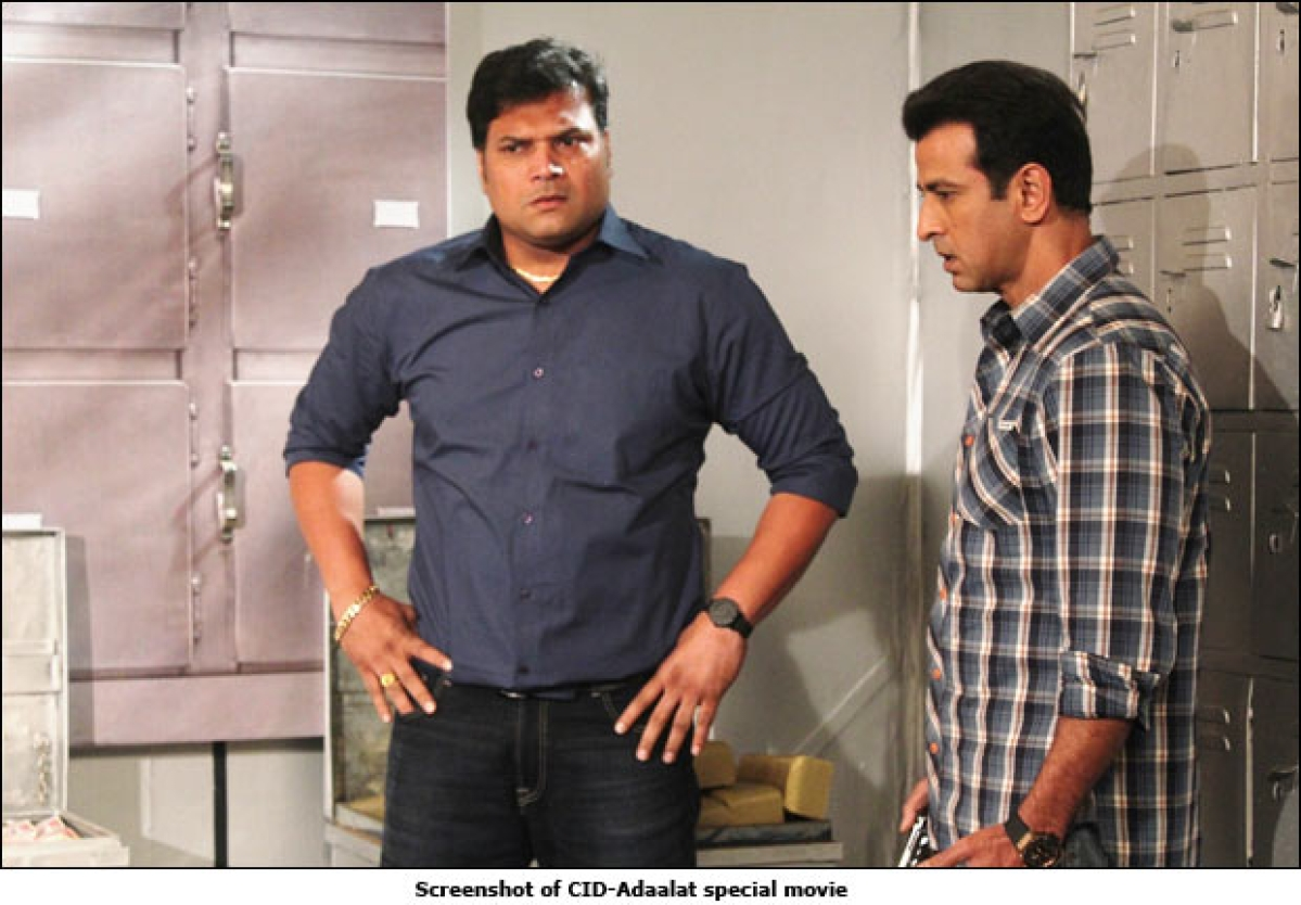 Sony to screen a telefilm with CID and Adaalat's cast
