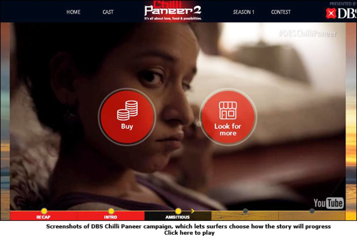 DBS Bank: Click and engage strategy