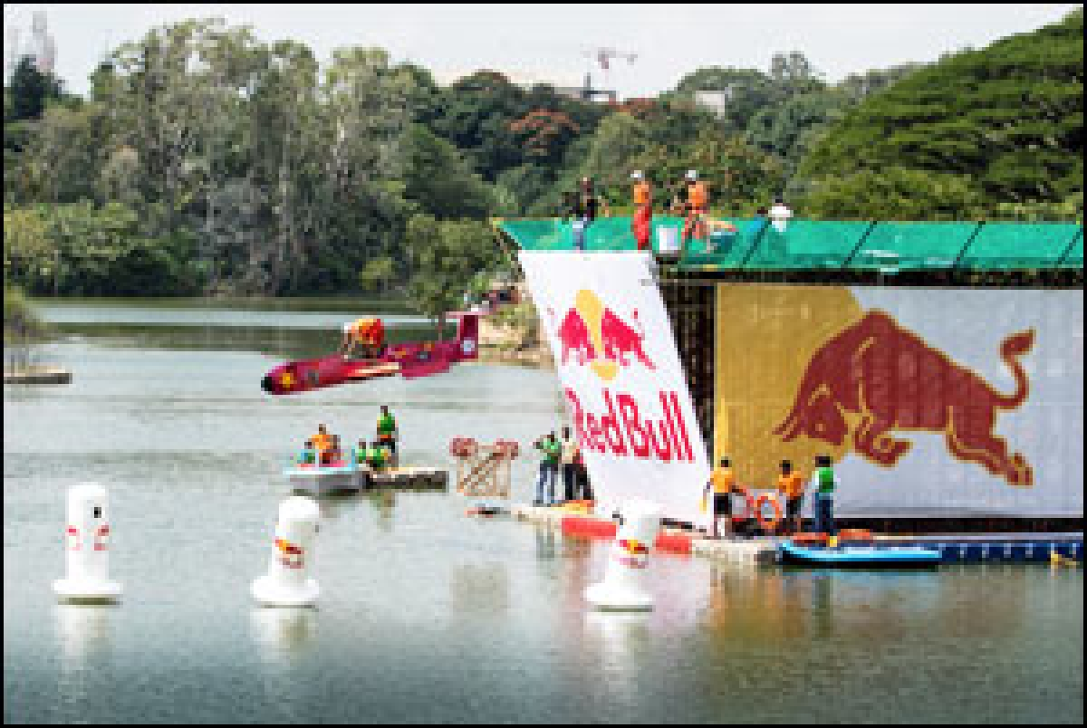 A Red Bull sports event