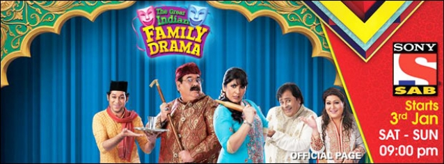 Sab TV launches 'The Great Indian Family Drama' as only