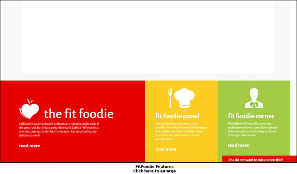 Saffola brings 'The Fit Foodie' on the web