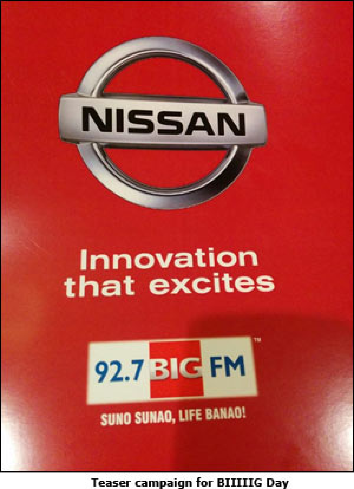 Nissan gets Big FM to go 'BIIIIIG'