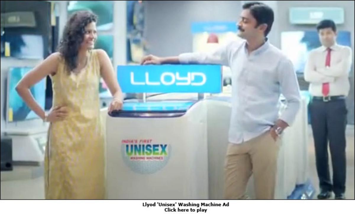 Lloyd Echoes Ariel, Surf; Sells 'Unisex' Washing Machines