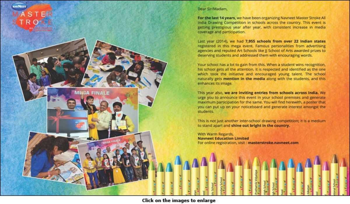 Navneet Master Stroke: Scouting for young artists