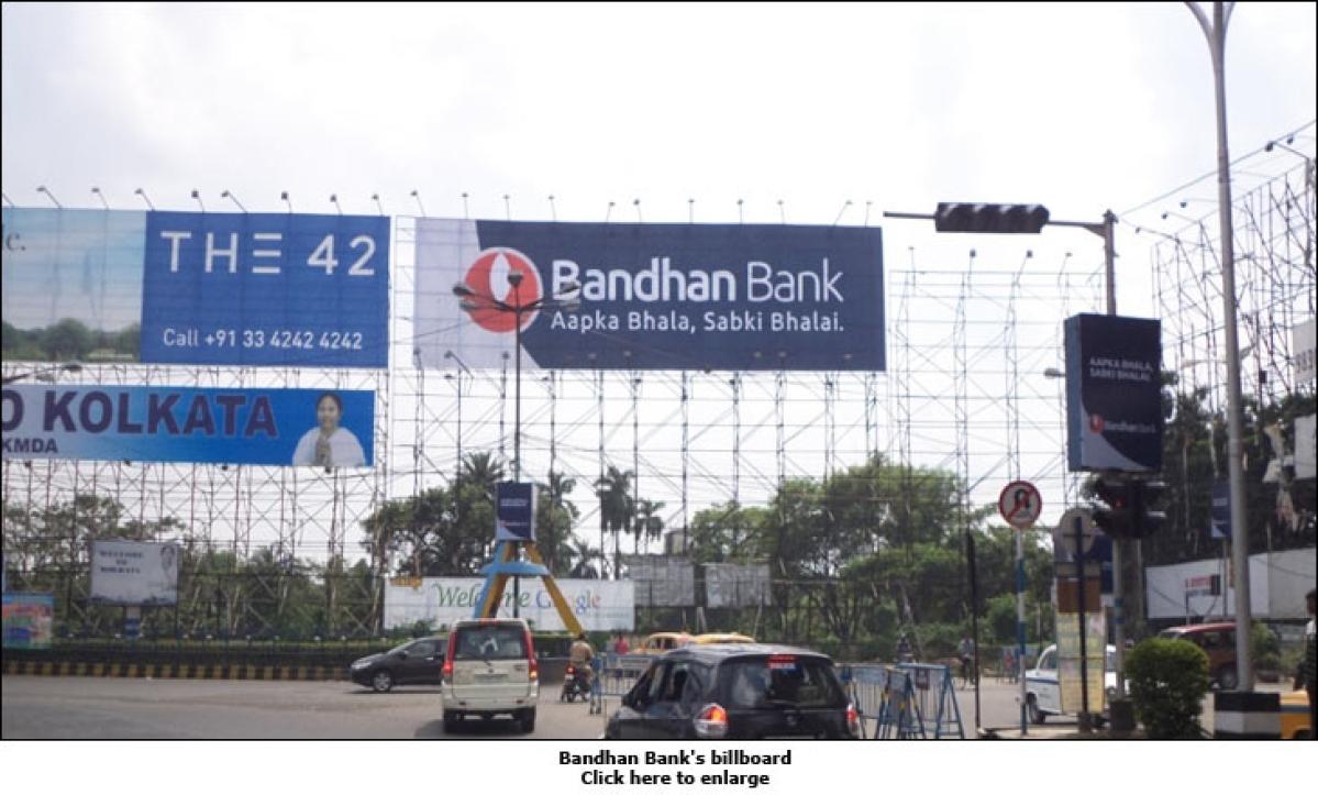 Kolkata dons a blue hue for Bandhan Bank