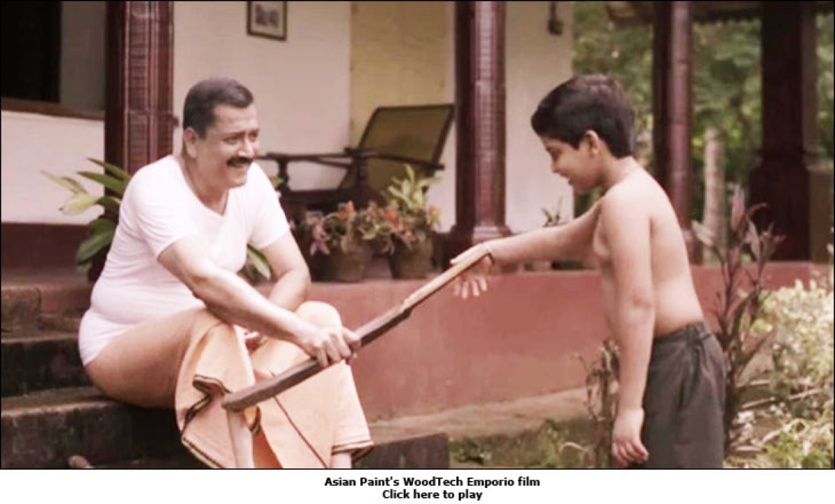 Asian Paints: Memories Etched in Wood
