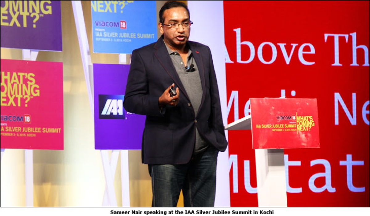 Sameer Nair on how digital is disrupting the media and entertainment business