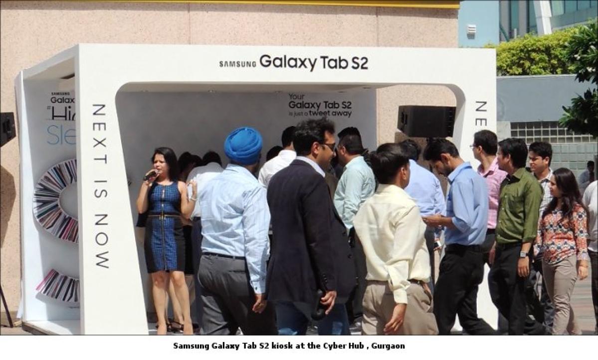 Samsung Galaxy plays hide and sleek
