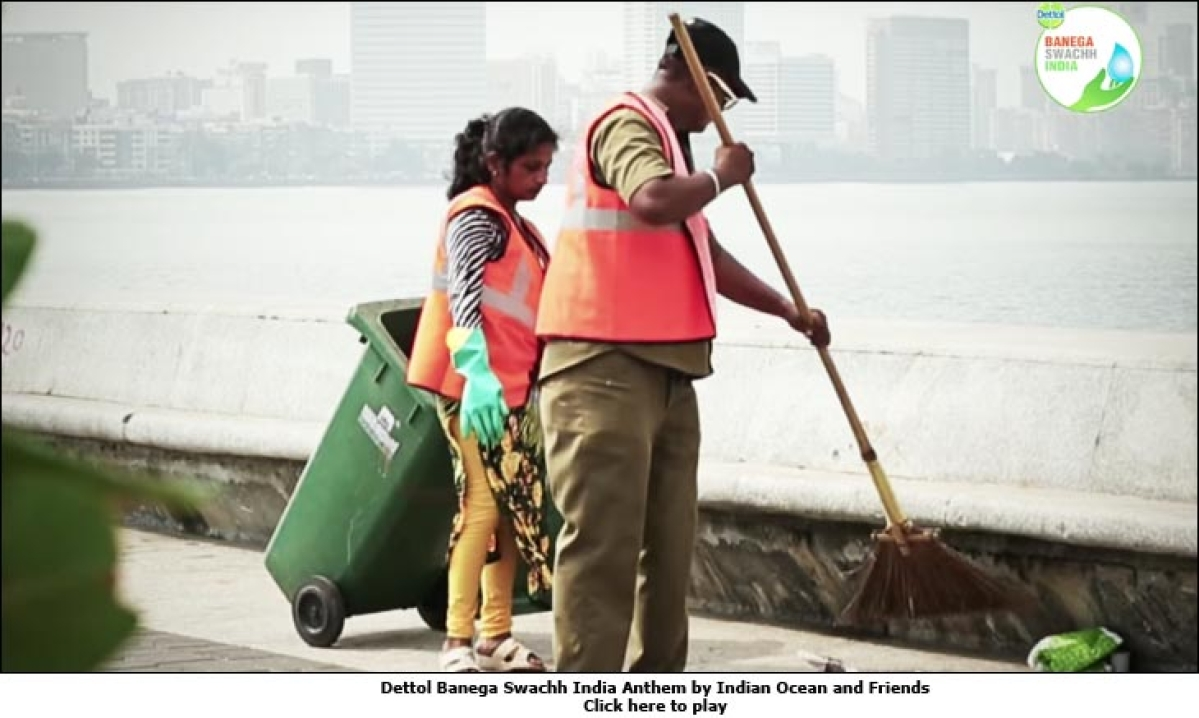 Indian Ocean jams with Dettol for 'Banega Swachh India'