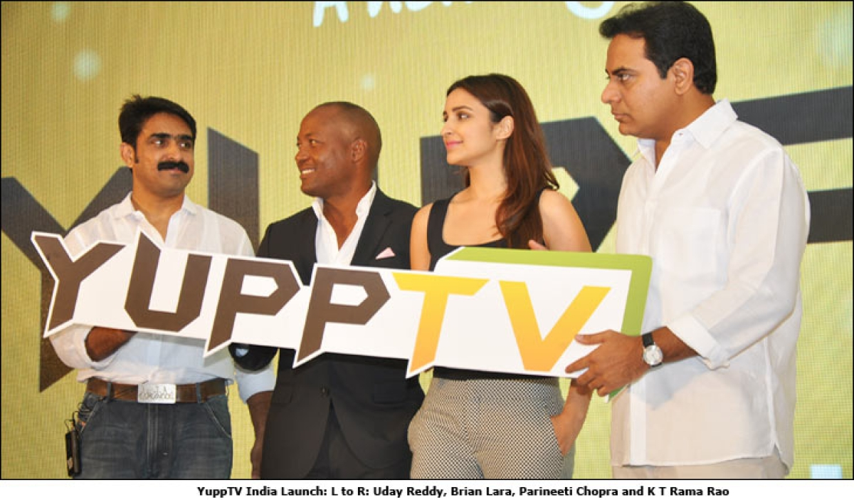 YuppTV launched in India