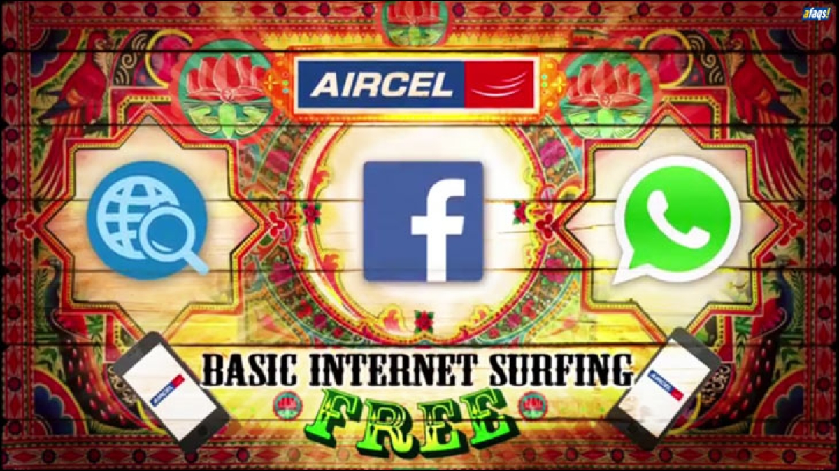 Aircel promotes free basic internet through 'See You Online Ba!'