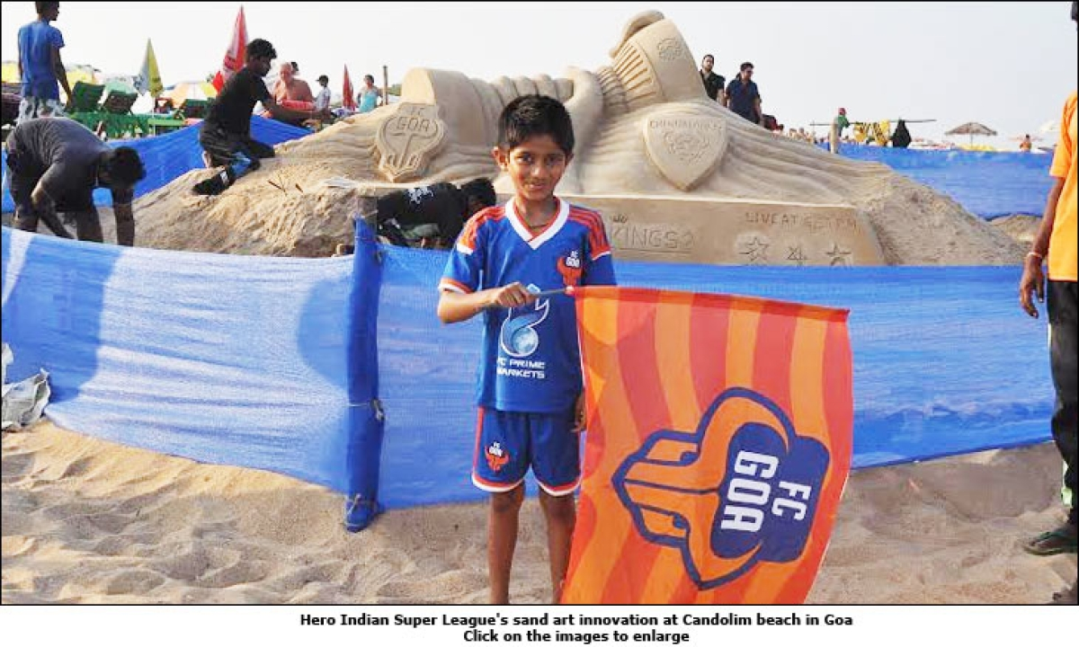 Hero Indian Super League engages with football lovers in Goa