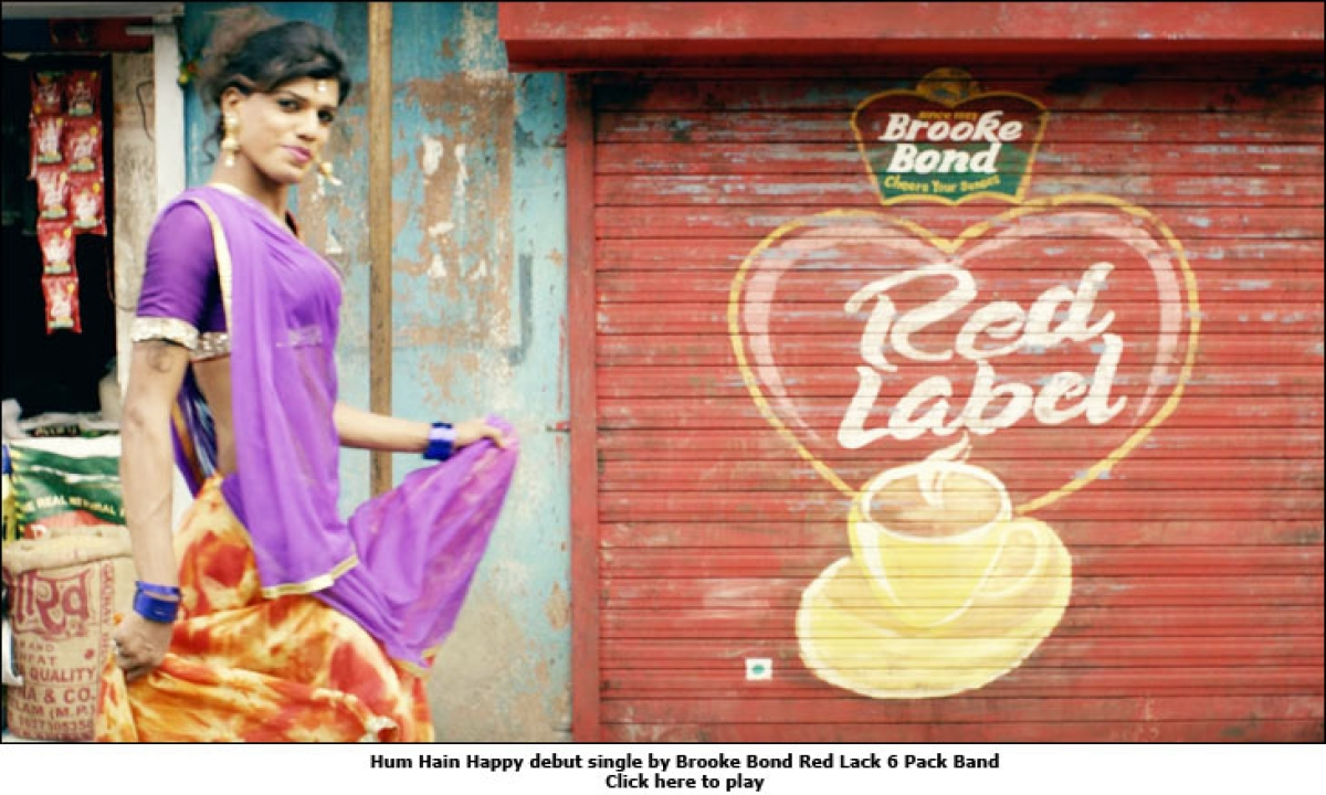 Brooke Bond Red Label sings a song of 'happy'ness