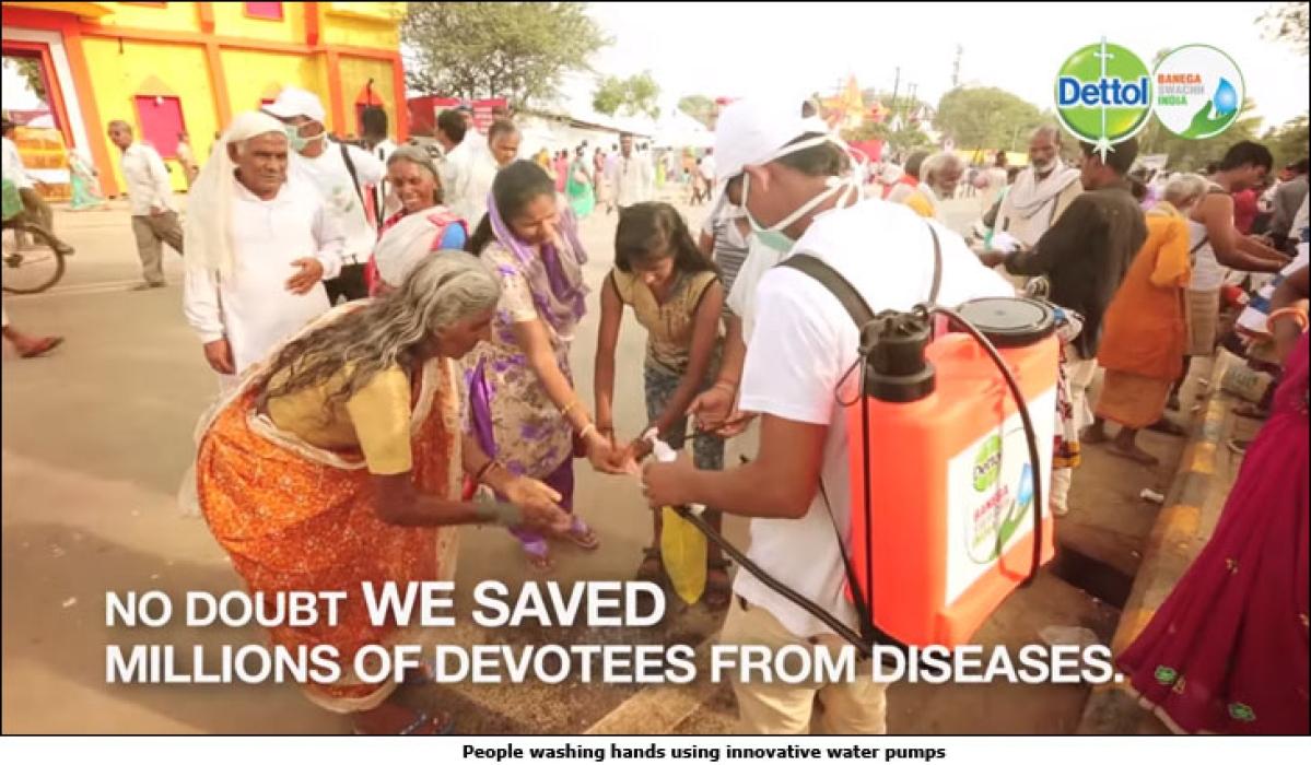 Dettol Ka Dhula Kumbh Mela: A melange of sanitation and salvation