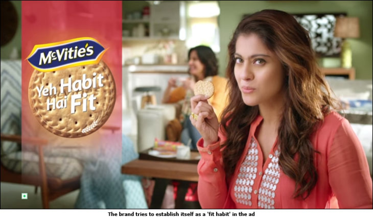 McVitie's positions itself as a 'fit habit'