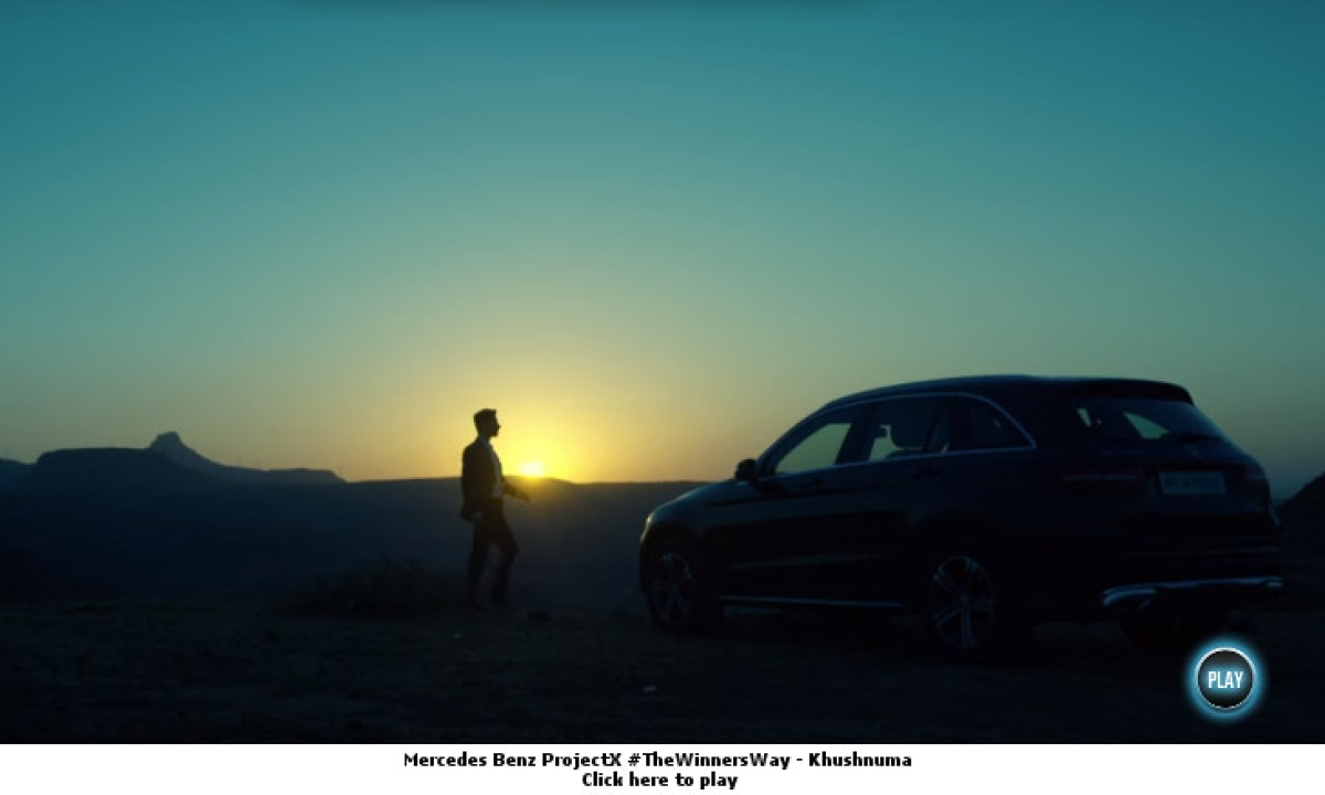 Mercedes-Benz Project X: Is this the face of the new age ad film?
