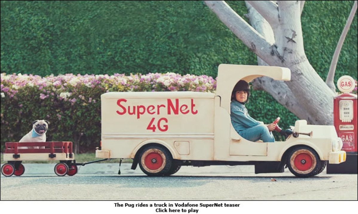 Who's a better mascot for 4G: Vodafone's Pug or the Airtel Girl?
