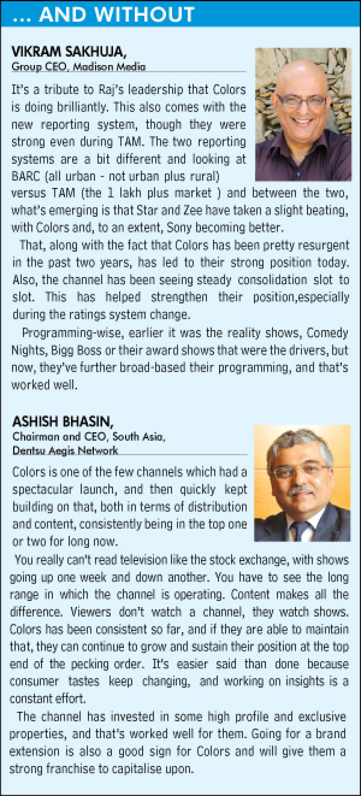 """""""There's no reason why we shouldn't launch a new channel..."""": Raj Nayak"""