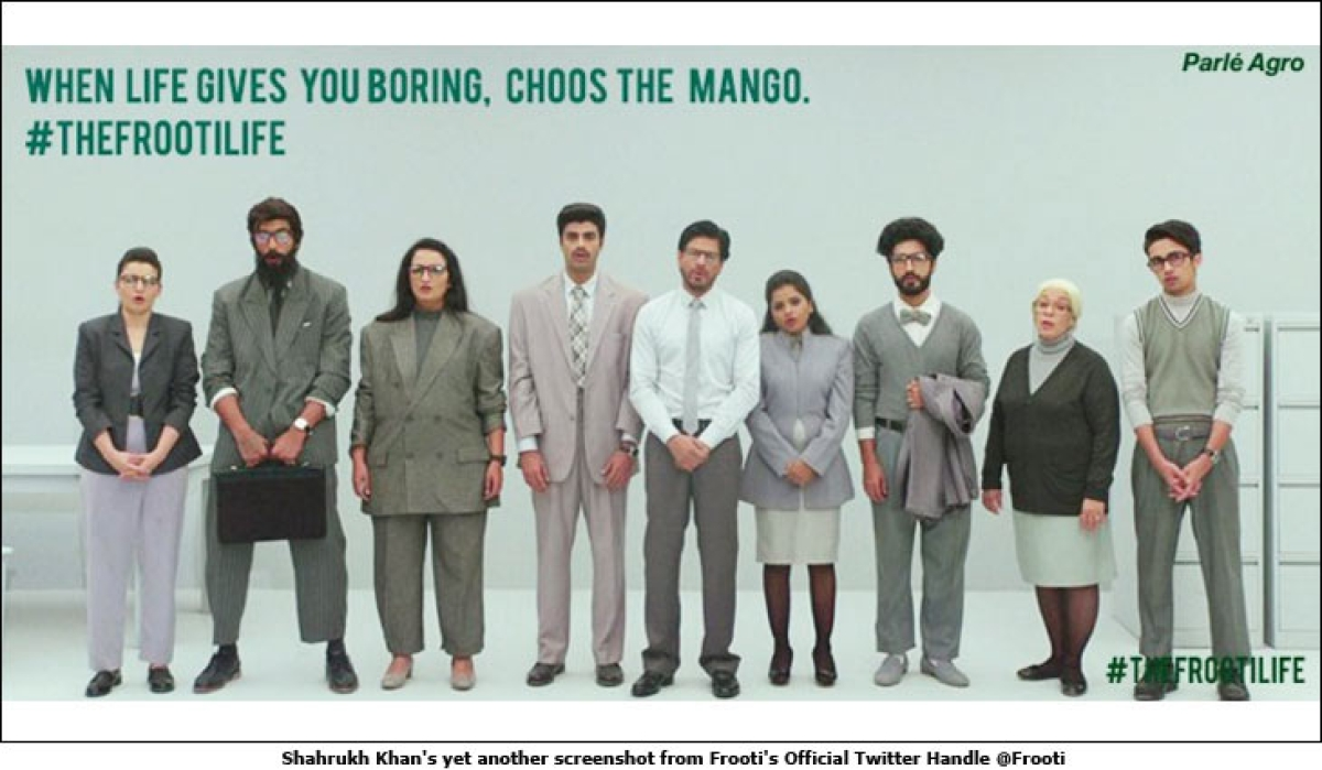 Suck it, lick it, do the Mango Bango, 'Choos' the Mango: What's Frooti trying to say?