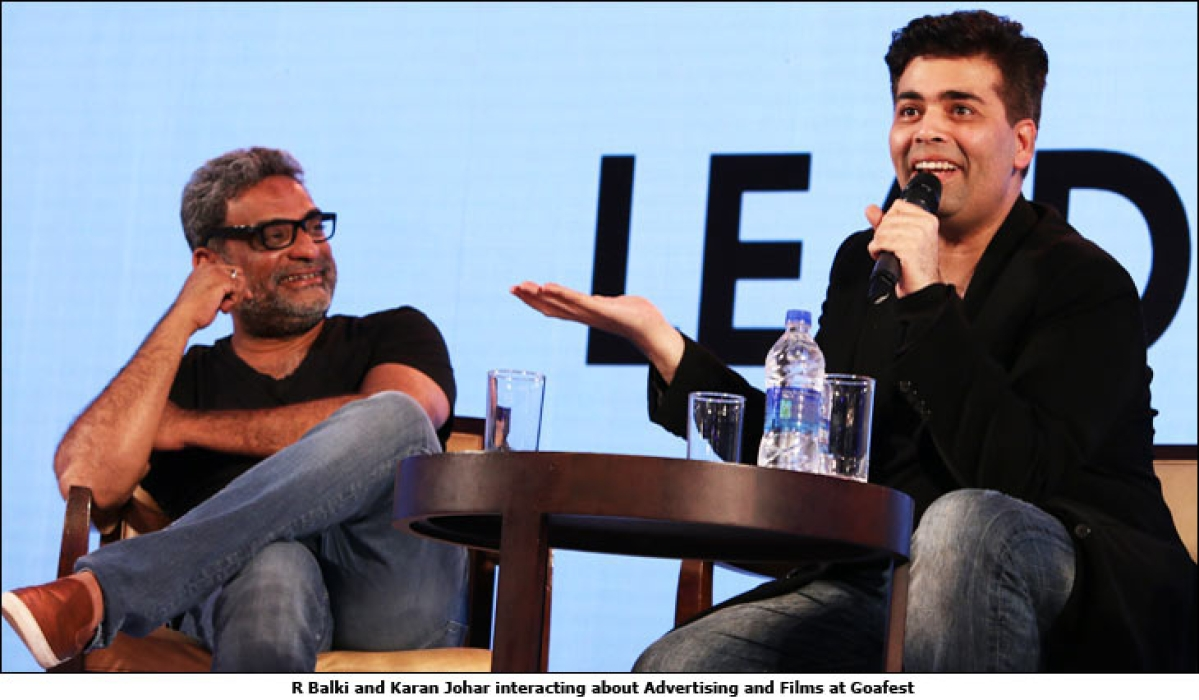 "Goafest 2016: ""I will never direct ad films"": Karan Johar"