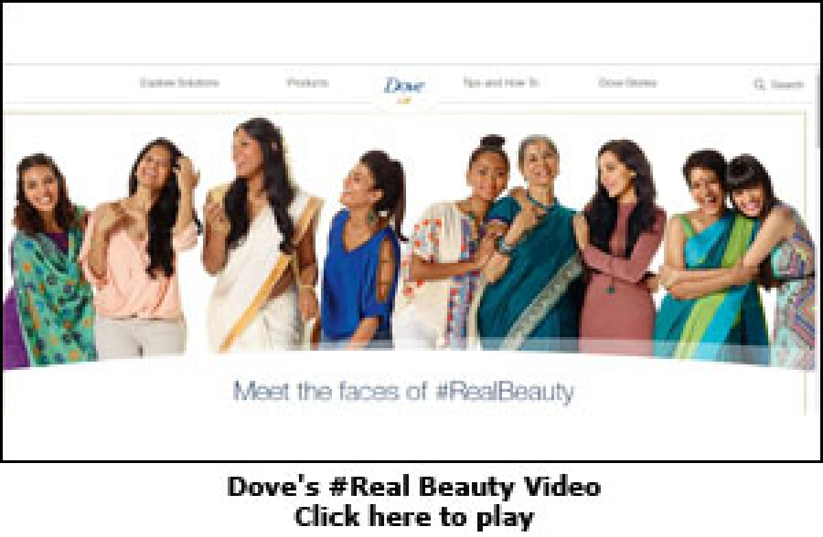 Dove puts dusky skin and white hair in the spotlight