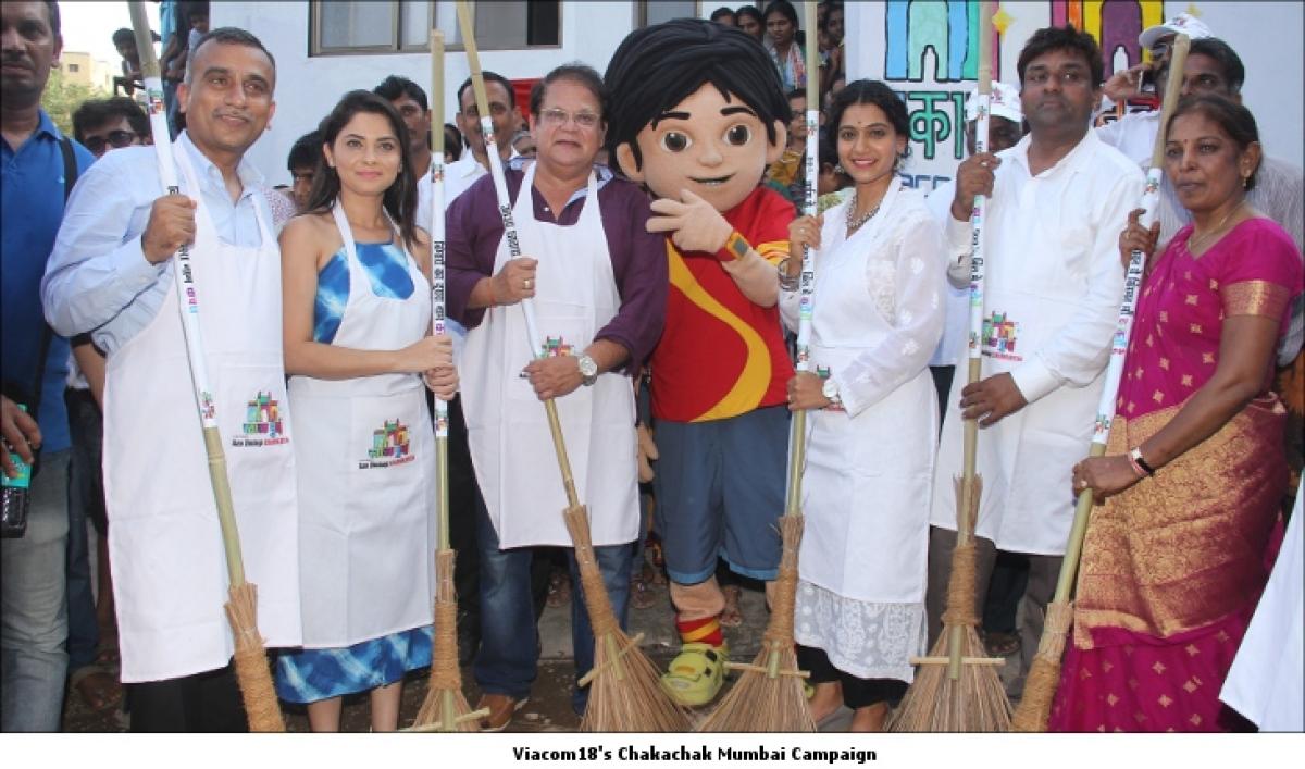 Viacom18 takes to improve Mumbai's sanitary conditions with its new campaign 'Chakachak Mumbai'
