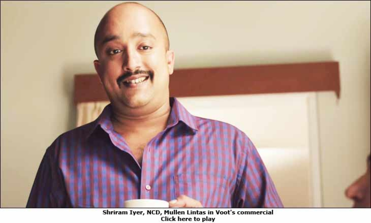 What's Mullen Lintas' NCD Shriram Iyer doing in Voot's TVC?