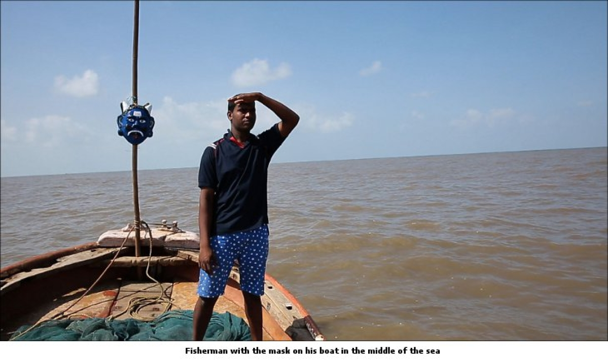 WPP's Kinetic India and NGO 'Work in India' create GPS-enabled mask for Indian fishermen