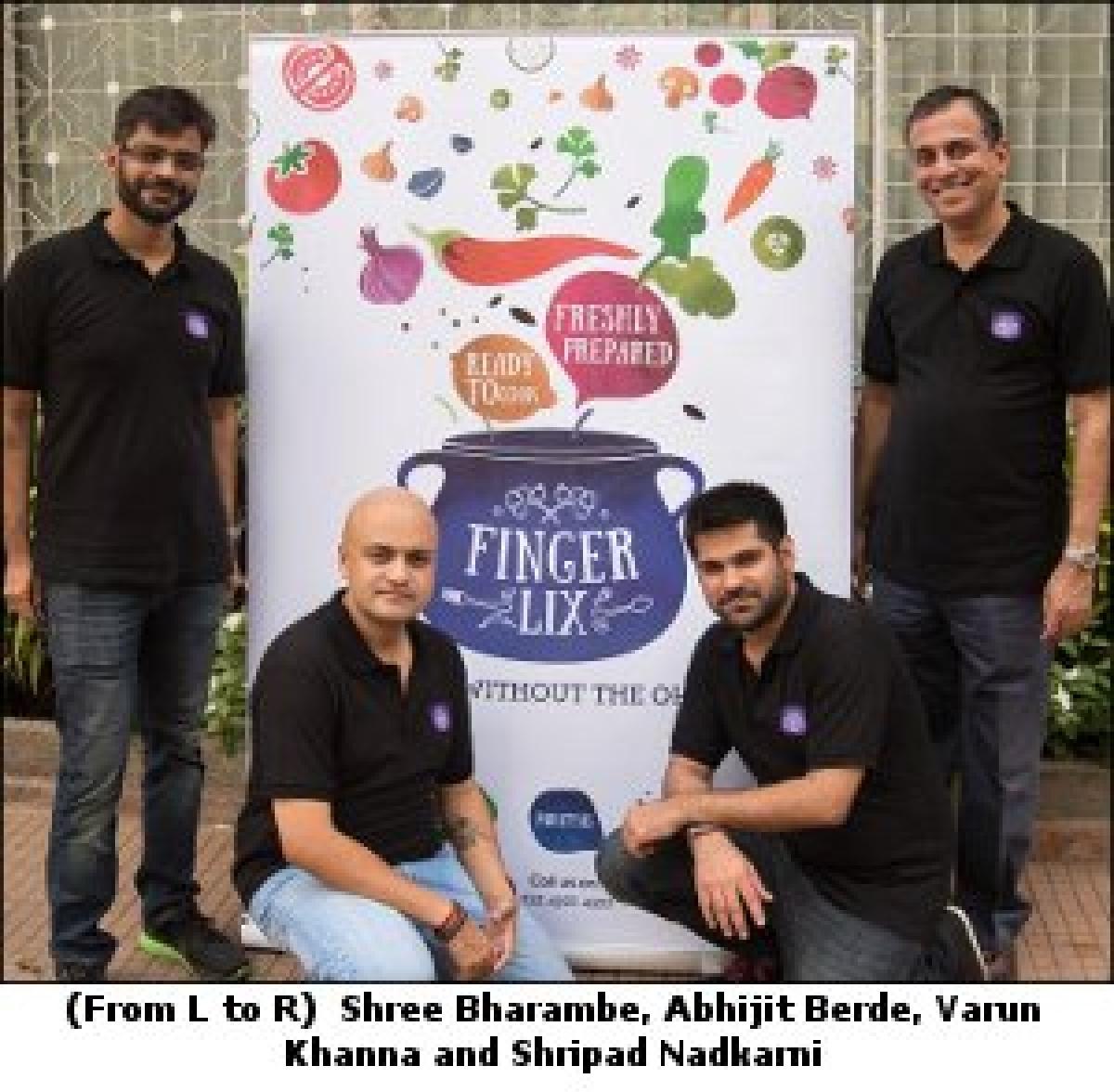Shripad Nadkarni, Shree Bharambe, Varun Khanna, and Abhijit Berde launch Fingerlix, a food start-up