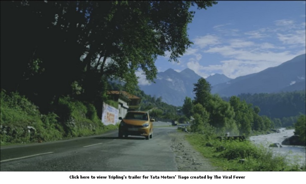 Maxus Content and TVF to launch web series Tripling for Tata Motors' Tiago